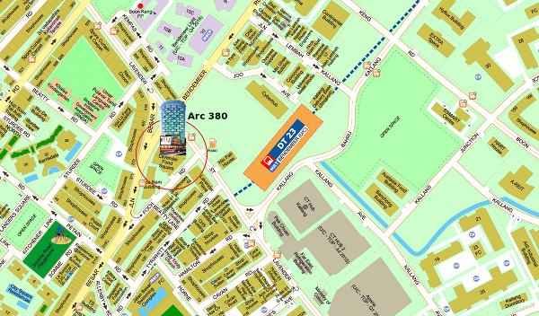 Arc-380-location-map